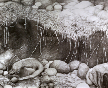 Degradable. Pencil. 1,5 x 9 metres. 2018