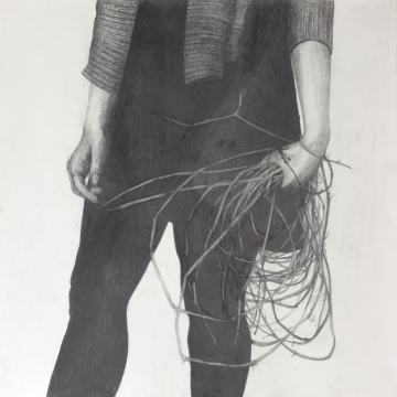 Grip. Pencil.  59 x 59 cm. 2020