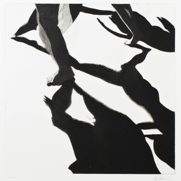 Shadow dance IV. Aquatint. 50 x 50 cm. 2013